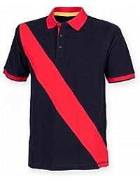 Front Row - Polo de rugby à manches courtes 100% coton - Homme