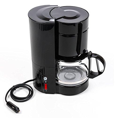 Preisvergleich Produktbild All Ride Kaffeemaschine mit Glaskanne für 10-12 Tassen,  Filterkaffeemaschine 24V 300W