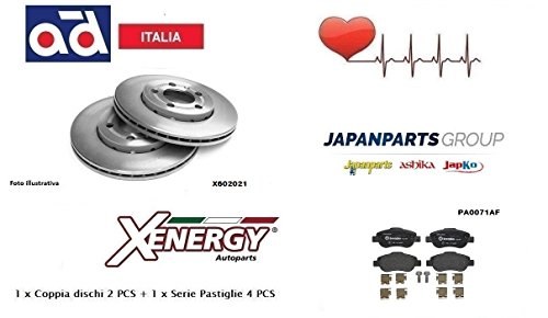 Dischi Ventilati Xenergy + Pastiglie Anteriori Japanparts