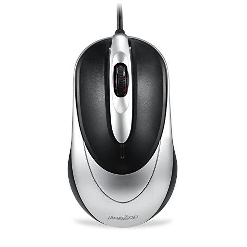 Perixx PERIMICE-205, Mouse ottico con filo - USB - 3 Buttons - 800 dpi - cavo da 1.5 m
