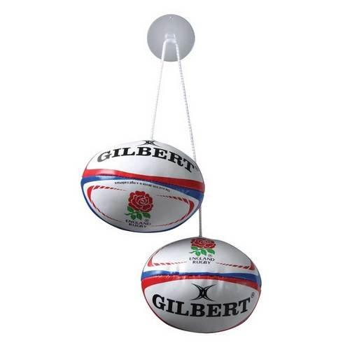 Gilbert Rugby Ball Scheibenanhänger - England
