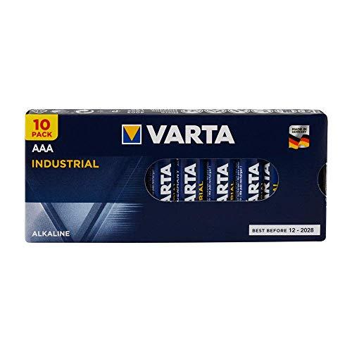Varta Industrial Batterie Micro LR03 AAA 1.5V, 10er Pack