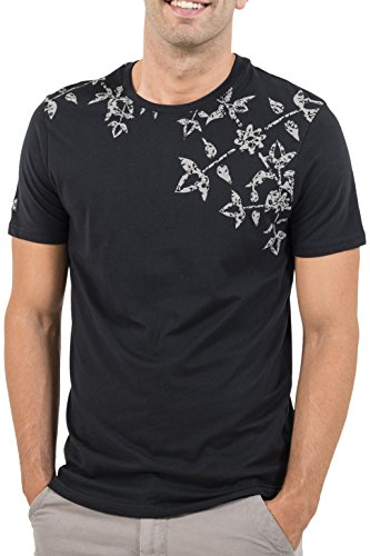 Oxbow K1TERZO T-Shirt Manches Courtes Homme, Noir, FR : L (Taille Fabricant : L)