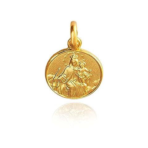 Notre -Dame du Mont Carmel. médaillon / collier / pendentif