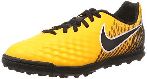 Nike Unisex-Kinder Jr. Magistax Ola II TF Fußballschuhe, Orange (Laser Orange/Black-White-Volt), 38 EU (Nike Amplify)