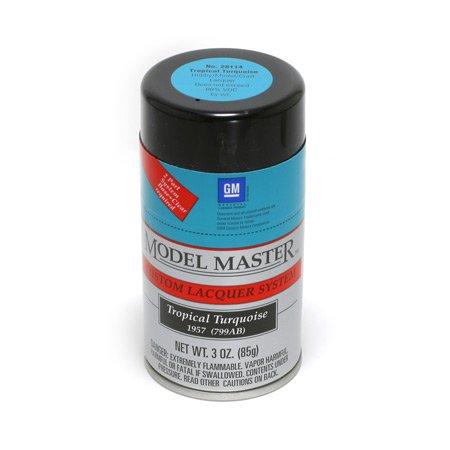 Testors Tropical Turquoise, 3oz Spray Paint ~ 28114 ^