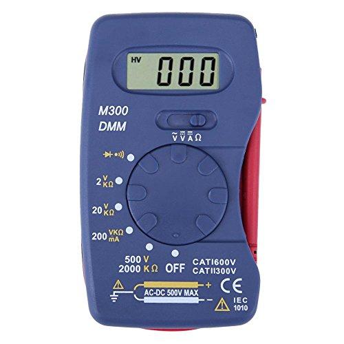 Asiproper Digitales Multimeter M300 Ultradünnes Mini-Taschen-Multimeter(Kaufen Sie eine, erhalten Sie eine kostenlos)