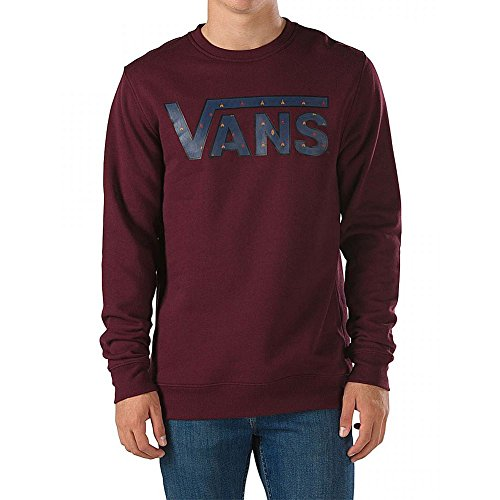 Vans - Felpa Classic Crew - Port Royale/True Native Ditsy - S
