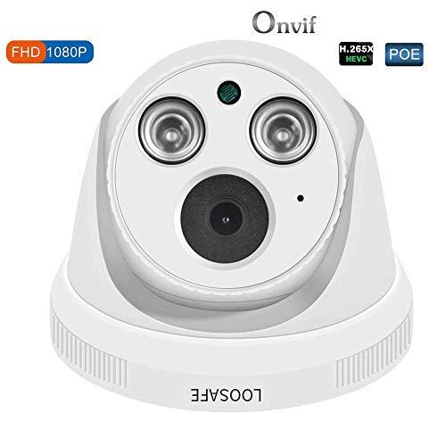 QUARKJK IP-Kamera, Netzwerk Home Security Dome-Sicherheit Indoor ...