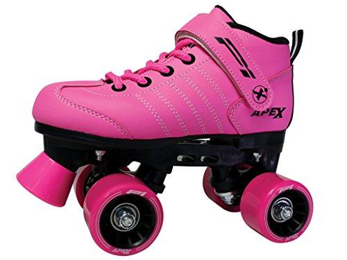 Lynx Apex Kinder Quad Roller Rink Skate, rose