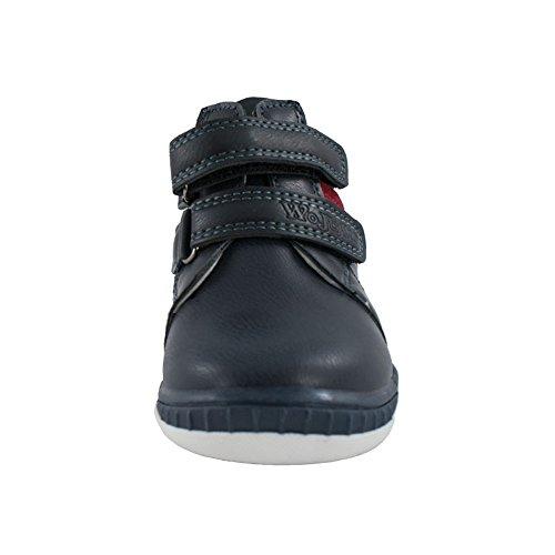 Jungen Schuhe Stiefel für Jungen mit komfortables Fußbett (1037) Marineblau