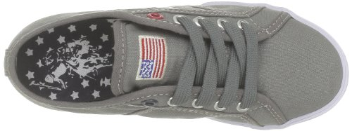 Us Polo Assn Bange2, Unisex-Kinder Sneakers Grau (Grey)