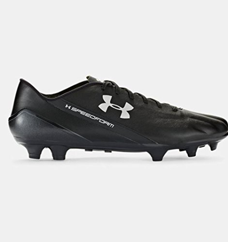 Under Armour Spotlight CRM Leather FG Fußballschuh Herren schwarz / anthrazit
