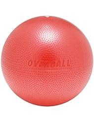 Overball 25cm BLAU ROT GELB PILATESBALL Gymnastikball, Yoga Übungsball, Yogaball, Soft Pilates, Therapieball, GYMNIC