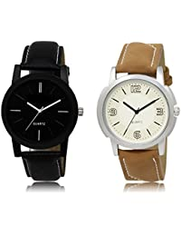 The Shopoholic Black White Combo Treny And Precious Black And White Dial Analog Watch For Boys Analog Watch