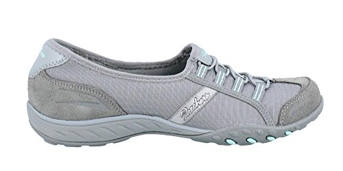 Skechers Breathe-Easy Good Life, Baskets Basses Femme gray