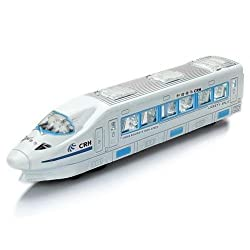 Battery Operated Universal Walking Light Sound Emu Train Car Toy For Kids