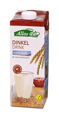 Allos Dinkel Drink Naturell - 1 l Bio Dinkelmilch