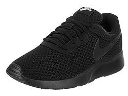 Nike Damen WMNS Tanjun Laufschuhe, Schwarz (Black/White 002), 40 EU