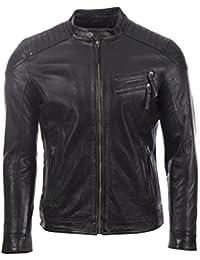 first rate 14a12 30aea Amazon.it: giacca di pelle uomo - Giacche / Giacche e ...