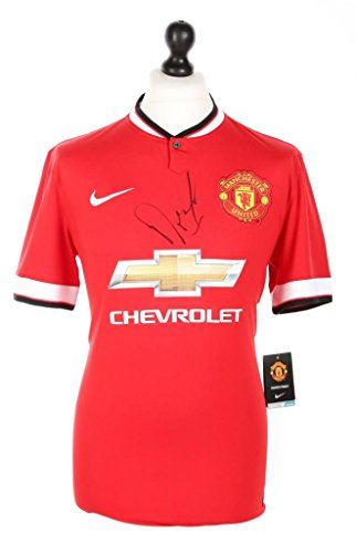 Angel-Di-Maria-Signed-Manchester-United-1415-Shirt-Autograph-Jersey-Memorabilia