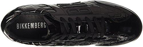 Bikkembergs R-Evolution 882 Shoe W Patent/S.Patent, Scarpe Low-Top Donna Nero