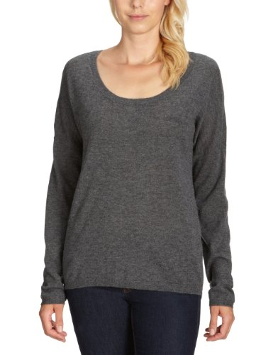 Fine collection pull pour femme 12/13H sweater Gris - Grau (heather antracite)