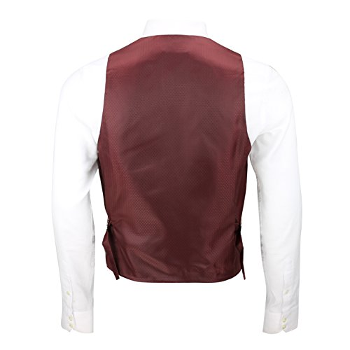 Xposed - Gilet - Homme * Taille Unique Brown-Tan-Collar