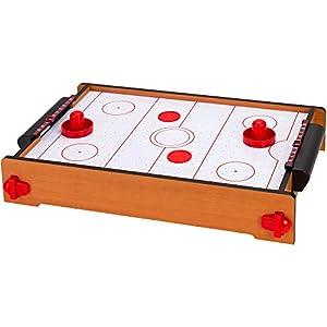 Globo Toys Globo 37204 - Juego de Hockey de Madera con impresión (51 x 31 x 10,5 cm)