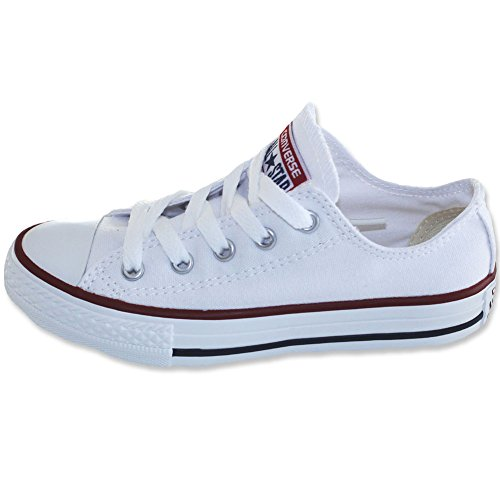 Converse Junior Star Chuck Sneaker Weiß Unisex 15762 Taylor Seasonal Ox Kinder All SIqr7S