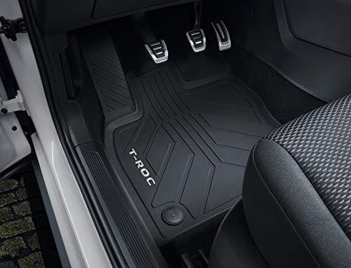 Volkswagen 2GA06150082V Tappetini in Gomma per Tutte Le Stagioni, 4X Tappetini, Nero