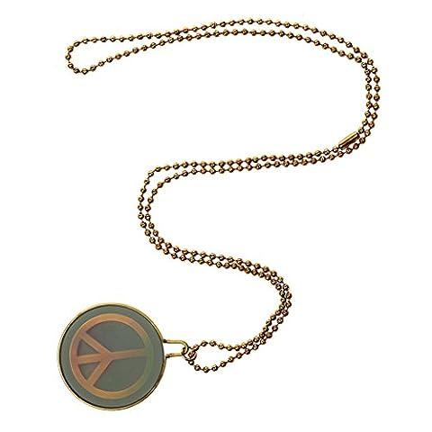 Gothic Steampunk Acrylique Collier avec Pendentif Roche Motif Divers Symbole-Or-70