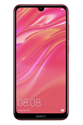 """Huawei Y7 2019 15,9 cm (6.26"""") 3 GB 32 GB SIM Doble 4G Rojo 4000 mAh - Smartphone (15,9 cm (6.26""""), 3 GB, 32 GB, 13 MP, Android 8.1, Rojo)"""