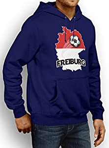 Freiburg #2 Premium Hoody   Fussball   Fan-Trikot   Die Macht in Deutschland   Herren   Kapuzenpullover © Shirt Happenz