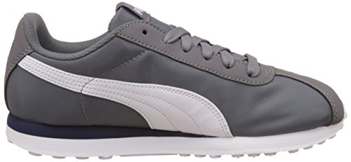 Puma Turin NL, Baskets Basses Mixte Adulte Gris (Grey/White 01)