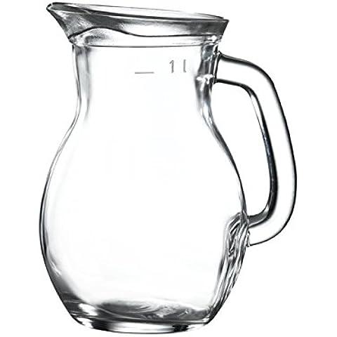 Caraffa in vetro, 1 litro/35 oz/Classic-Caraffa in vetro/di Catering Products by Genware