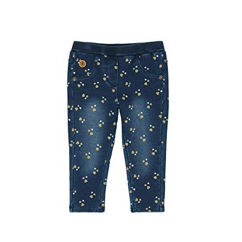 boboli 226022, Pantalones Deportivos para Bebés, Multicolor (Corazones 9891), 68 (Tamaño del fabricante:6M)
