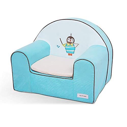 BDWY Kinder Sofa, Stuhl, herausnehmbar und waschbar Karikatur-nettes Sofa-Baby,Color2