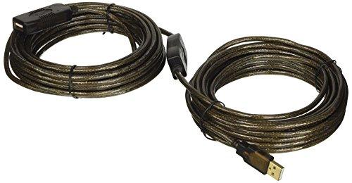 DeLock Kabel USB 2.0 Verlaengerung aktiv 15m (Weiß Usb Kabel 12)