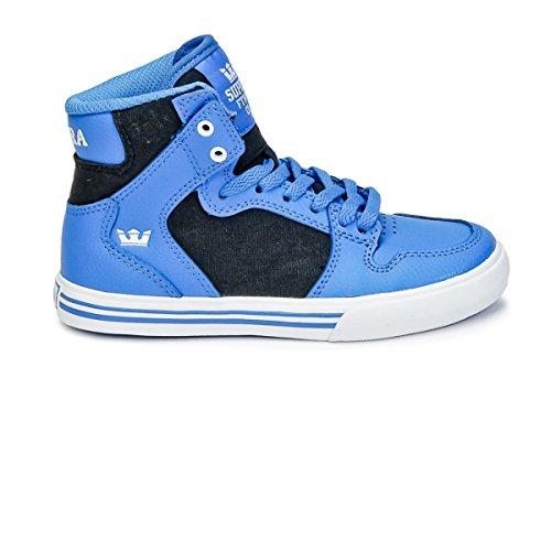 Supra Skytop S18091, Sneaker Uomo Bleu / Noir / Blanc