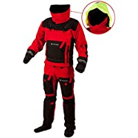Typhoon Mens PS330 Extreme KAYAK/OCEAN Drysuit with Con Zip Sizes- - Medium Large
