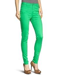 VERO MODA Damen Hose 10074142 WONDER COLOR DENIM JEGGING Skinny Slim Fit (Röhre) Normaler Bund