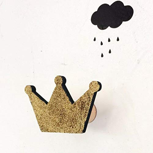 Nordic Crown (Vektenxi Nordic Crown Form Haken Wand Kleiderbügel Rack Organizer Kinderzimmer Hängen Dekor Hohe Qualität)