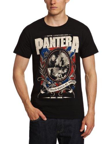 Pantera Music T-shirt (Bravado Herren T-Shirts   - Schwarz - Black - Größe L (Herstellergröße: Large))