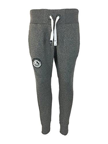 Superdry -  Pantaloni sportivi  - Uomo Grey Medium