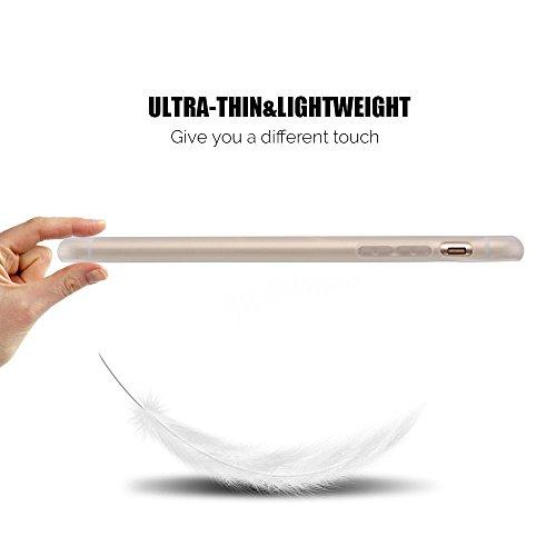 Coque iPhone 6S Plus , Etui iPhone 6 Plus TPU Case Silicone Transparente Slim Souple Étui de Protection Flexible Soft Cover avec Motif Spécial Anti Choc Ultra Mince Integrale Couverture Bumper Caoutch Flamingo 1