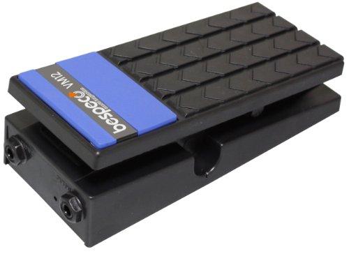 Bespeco VM12 - Pedale per volume con attacco mono, per chitarra, colore nero