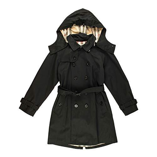 BURBERRY Trenchcoat - schwarz, Größe:10 Jahre / 140