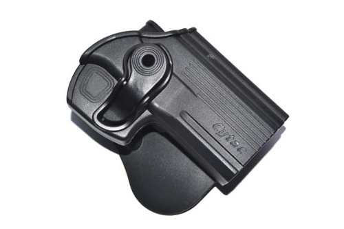 Noga Pistolen-Holster, passend für die meisten Pistolen, Schwarz (Wesson-sd40 Ve Smith And Holster)