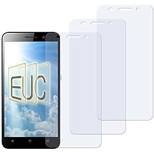 3 x Displayschutzfolie klar/wie unsichtbar für Huawei Honor 4X